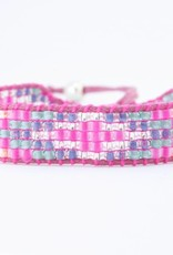 By Loffs By Loffs armband - Pink explosion 2.0
