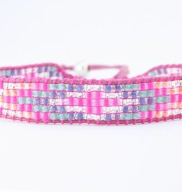 By Loffs By Loffs armband - Pink explosion 2.0