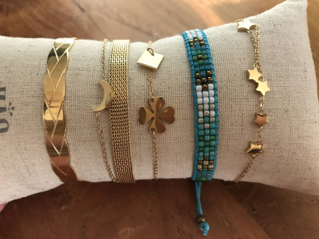By Loffs By Loffs armband - Aqua blue