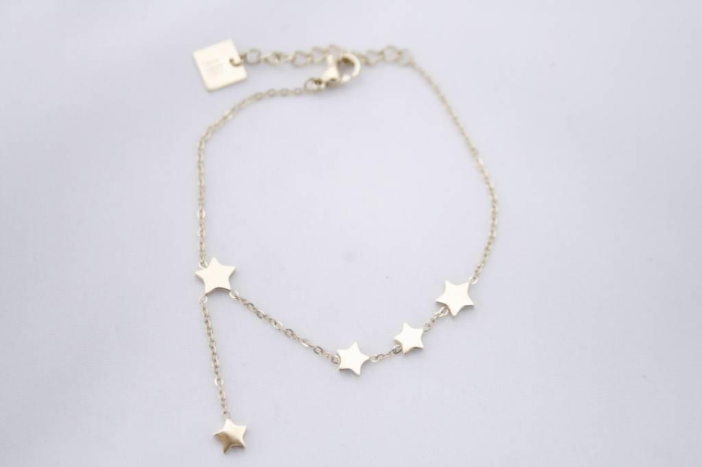 ZAG Bijoux ZAG Bijoux - Falling stars goud