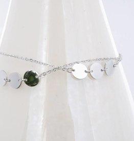 ZAG Bijoux ZAG Bijoux armband - Double triple zilver
