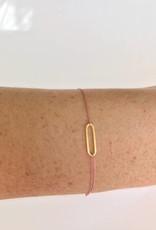 Jukserei Geluksarmband Jukserei - Lupe (24K goud)