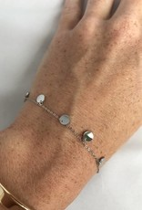 ZAG Bijoux Armband ZAG Bijoux - Coins zilver
