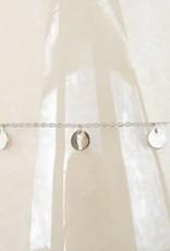 ZAG Bijoux ZAG Bijoux ketting - Coins zilver