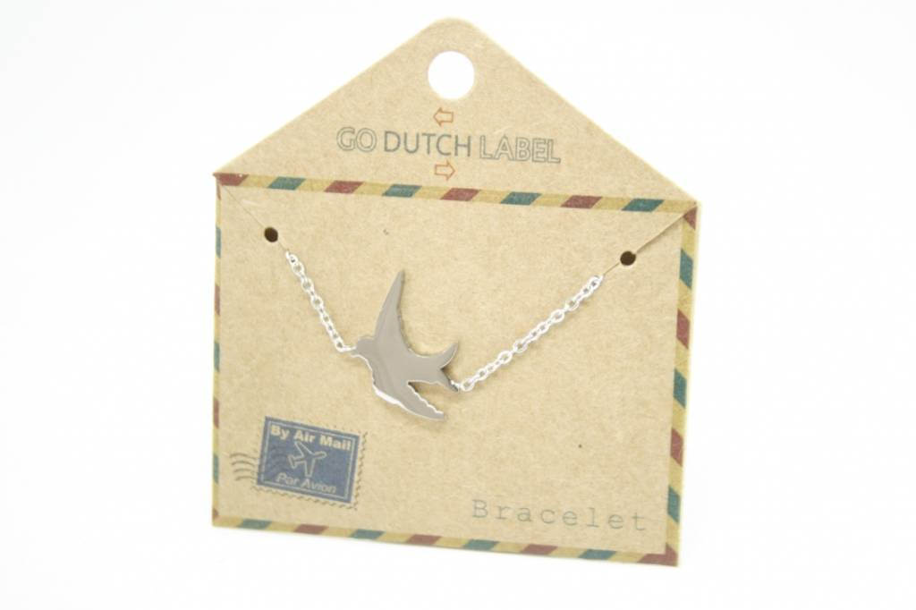 Go Dutch Label Go Dutch Label - Zwaluw zilver