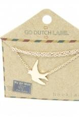 Go Dutch Label Go Dutch Label - Zwaluw rose goud