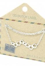 Go Dutch Label Go Dutch Label - Honingraat zilver