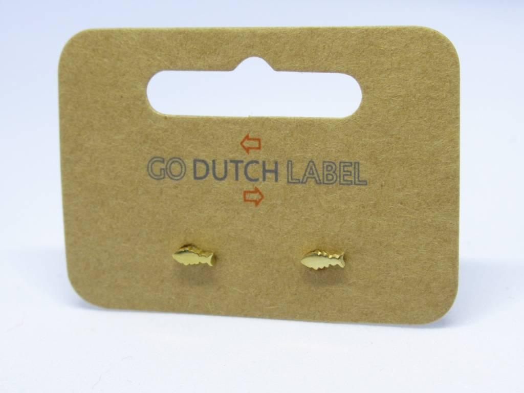 Go Dutch Label Go Dutch Label - Visje goud