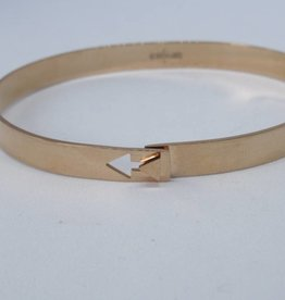 Go Dutch Label Armbanden Go Dutch Label - Slavenarmband arrow rose goud