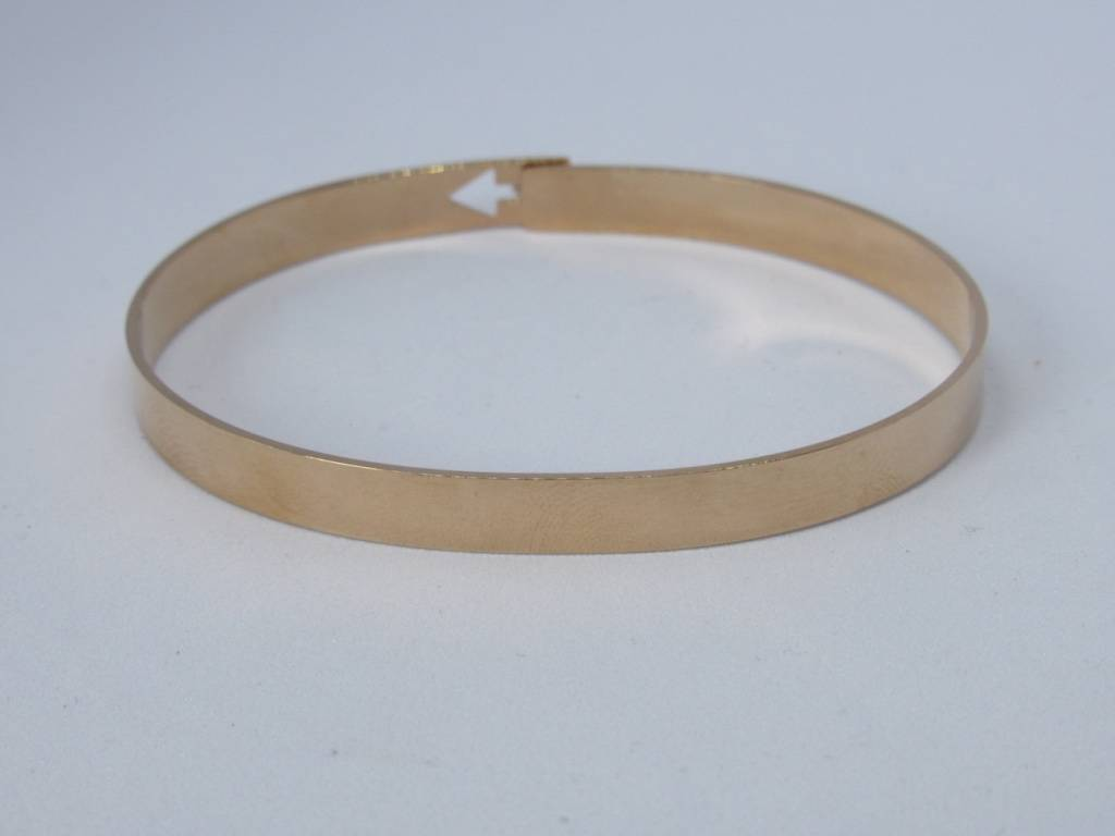 Go Dutch Label Go Dutch Label - Slavenarmband arrow rose goud