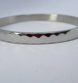 Go Dutch Label Armbanden Go Dutch Label - Slavenarmband hammered zilver