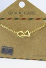 Go Dutch Label Go Dutch Label - Cirkel driehoek goud