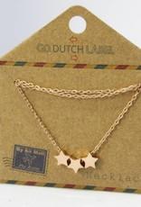 Go Dutch Label Go Dutch Label - Stars rose goud
