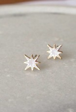 ZAG Bijoux ZAG Bijoux - White sparling star goud