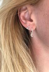 Eline Rosina Eline Rosina oorbellen - Triple dots zilver