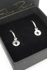 Eline Rosina Eline Rosina oorbellen - North star coin sterling silver