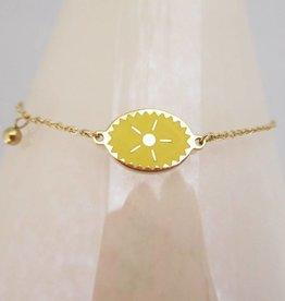ZAG Bijoux Armband ZAG Bijoux - Yellow sun gold