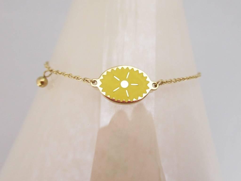 Zag Bijoux Sieraden Yellow Sun Goud Made By Mila Sieraden En Meer