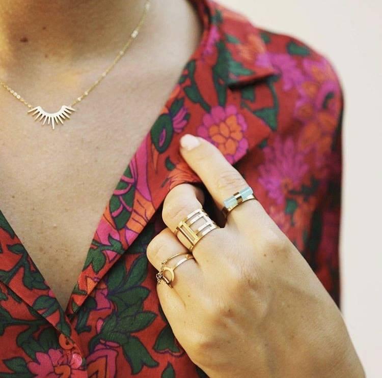 ZAG Bijoux ZAG Bijoux ketting - Sunshine rose goud