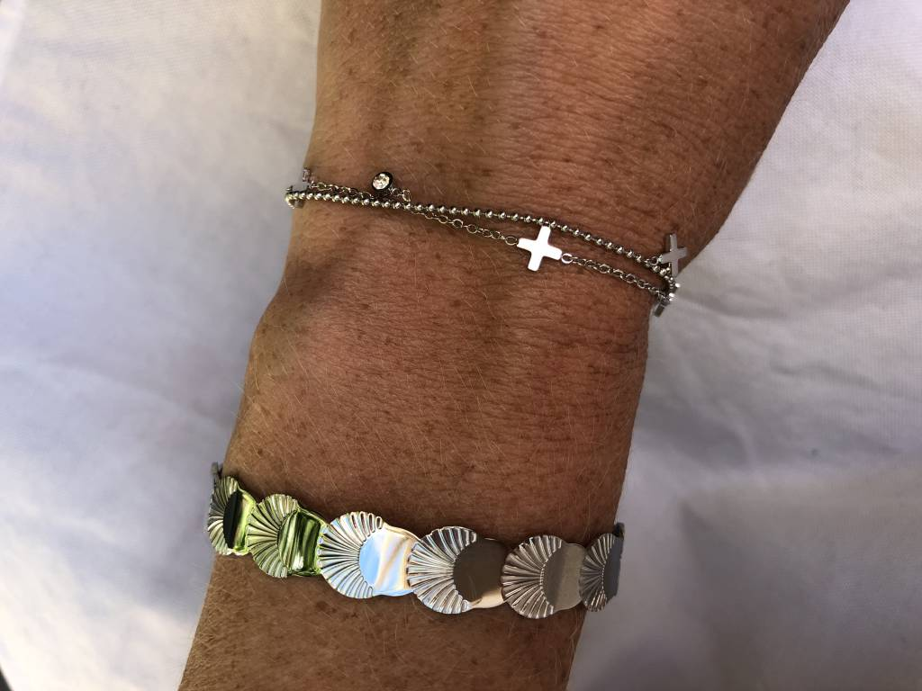 ZAG Bijoux ZAG Bijoux - Multi kruisjes zilver