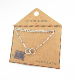 Go Dutch Label Kettingen Go Dutch Label - Cartier zilver