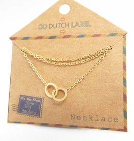Go Dutch Label Kettingen Go Dutch Label - Cartier goud