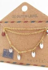 Go Dutch Label Kettingen Go Dutch Label - Coins goud/zilver