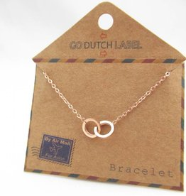 Go Dutch Label Armbanden Go Dutch Label - Cartier rose goud