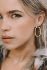 Eline Rosina Eline Rosina oorbellen - Door Knocker earrings sterling silver