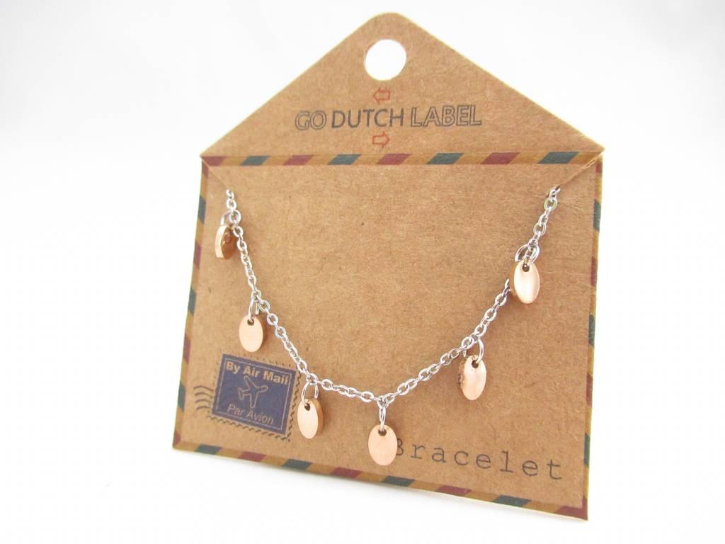 Go Dutch Label Go Dutch Label - Coins zilver/rose goud