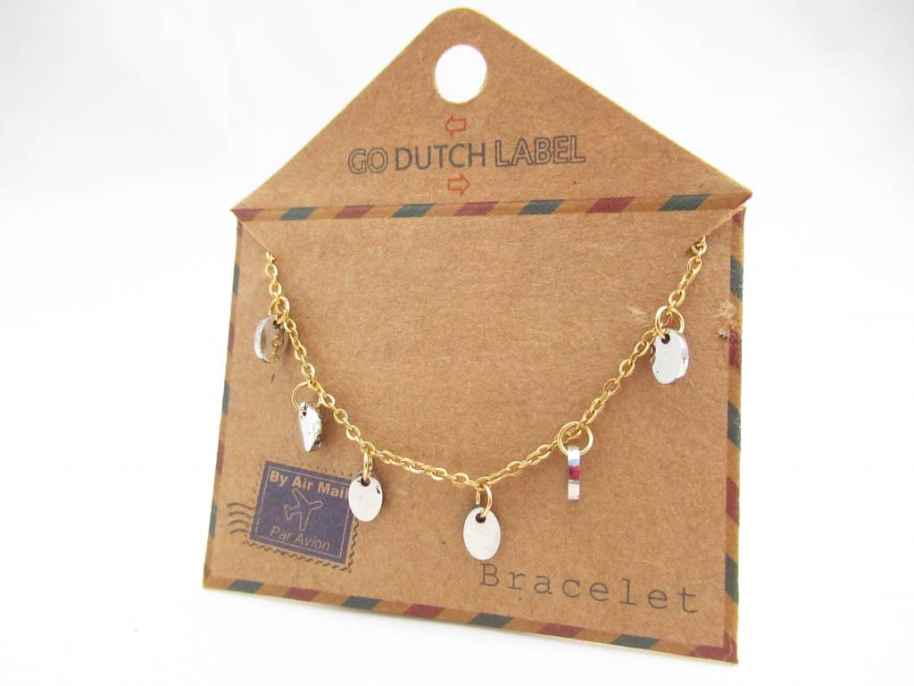 Go Dutch Label Go Dutch Label - Coins goud/zilver