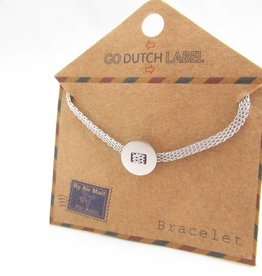 Go Dutch Label Armbanden Go Dutch Label - Basic zilver