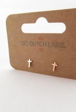 Go Dutch Label Go Dutch Label - Kruisje rose goud