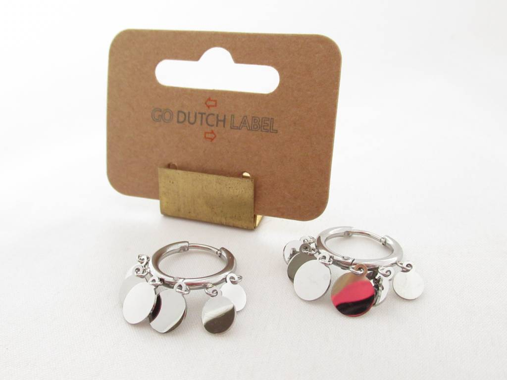 Go Dutch Label Go Dutch Label - Coins zilver