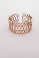 ZAG Bijoux ZAG Bijoux - Motief ring rose goud