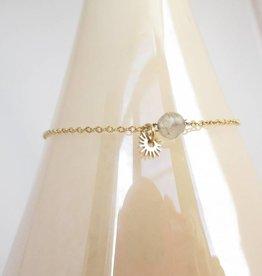 ZAG Bijoux Armband ZAG Bijoux - Grey sun gold