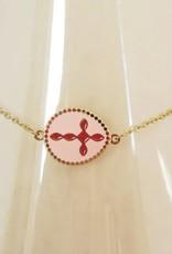 ZAG Bijoux ZAG Bijoux - Pink cross