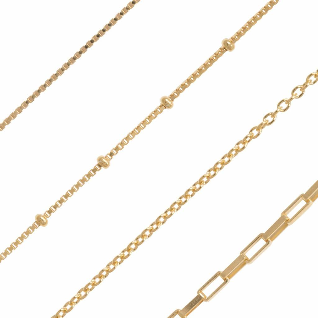 Eline Rosina Eline Rosina ketting - Self love club necklace in gold