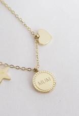ZAG Bijoux ZAG Bijoux - Love mum goud