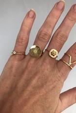 ZAG Bijoux ZAG Bijoux ring - Zegelring goud