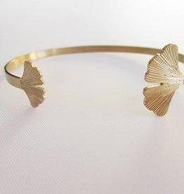 ZAG Bijoux Armband ZAG Bijoux - Slavenarmband blad goud