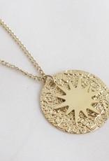 ZAG Bijoux ZAG Bijoux ketting - Amulet goud lang