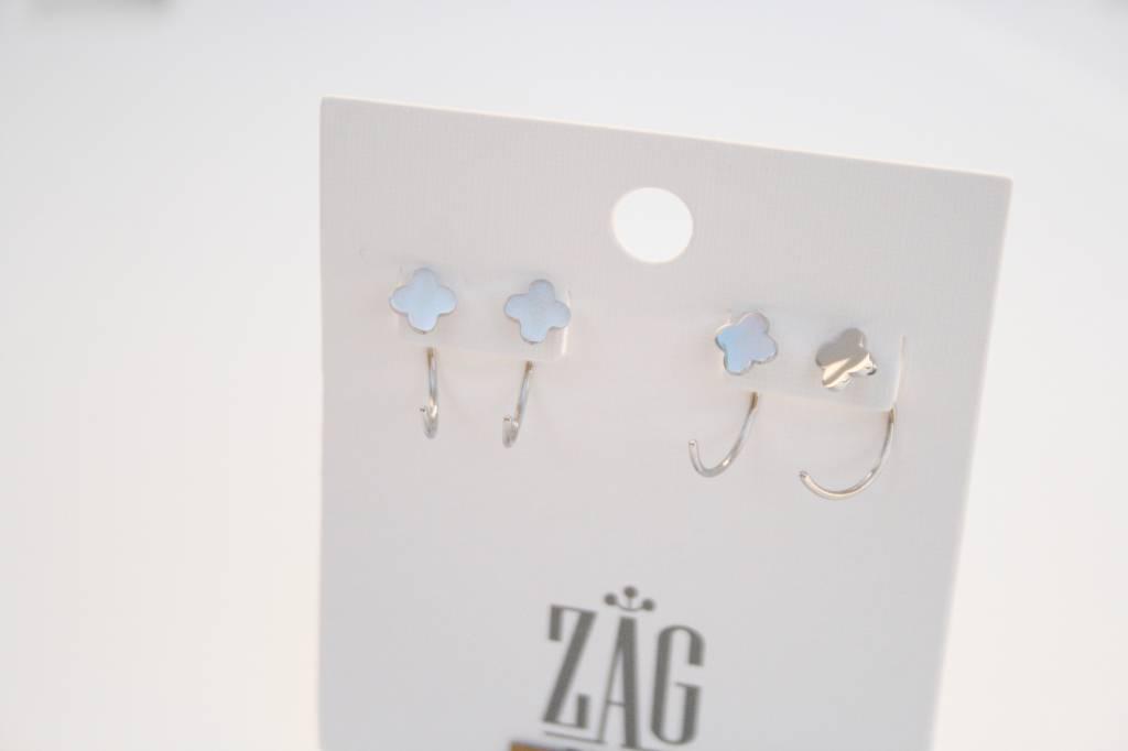 ZAG Bijoux ZAG Bijoux - Klaver zilver