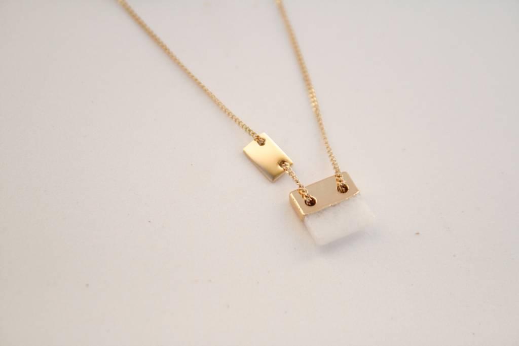 Zag Bijoux Sieraden Marble Goud Made By Mila Sieraden En Meer