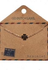 Go Dutch Label Go Dutch Label - Klavertje vier rose goud