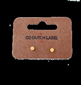 Go Dutch Label Oorbellen Go Dutch Label - stud rondje goud