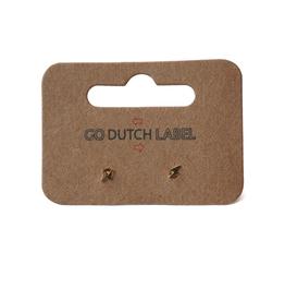 Go Dutch Label Oorbellen Go Dutch Label - stud bliksemschicht goud