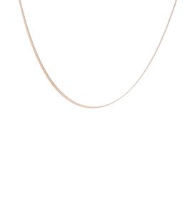 ZAG Bijoux Ketting ZAG Bijoux - Flat snake goud -