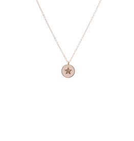 ZAG Bijoux ZAG Bijoux ketting -  star stone white gold