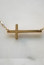 ZAG Bijoux Ketting ZAG Bijoux - Kruisje goud